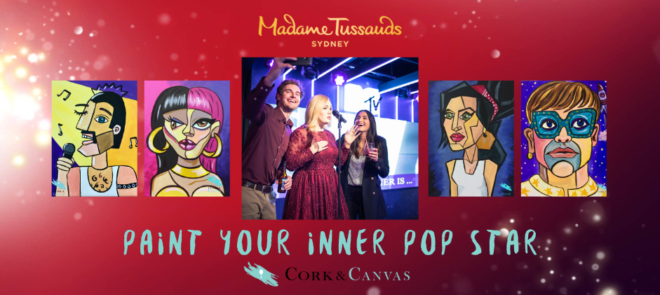 VIP Cork & Canvas - Paint Your Inner Pop Star